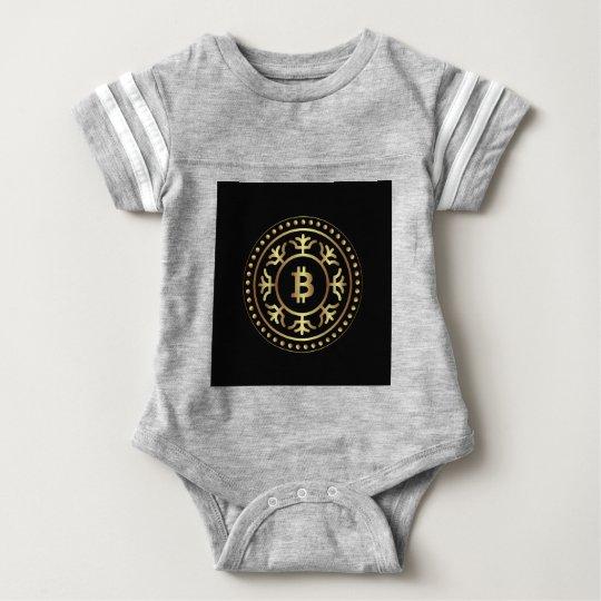 Bitcoin 2 baby bodysuit