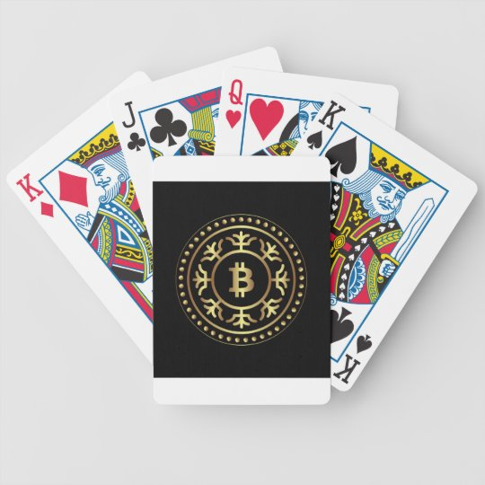 Bitcoin 2 bicycle playing cards