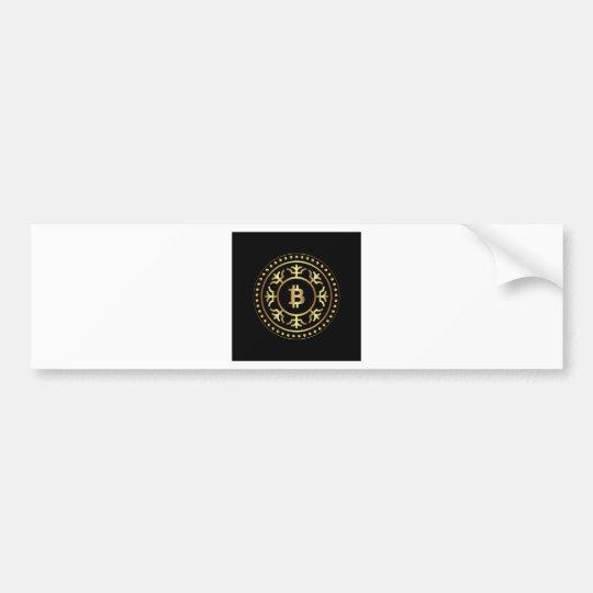 Bitcoin 2 bumper sticker