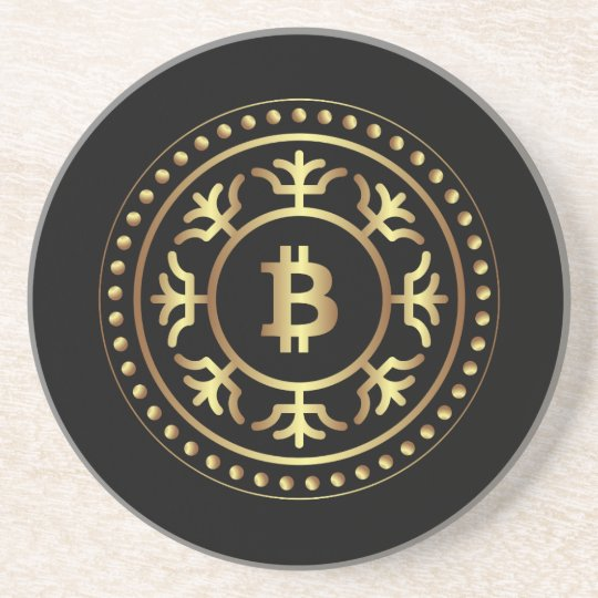 Bitcoin 2 coaster