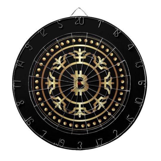 Bitcoin 2 dartboard