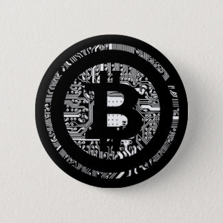 Bitcoin 2 Inch Round Button
