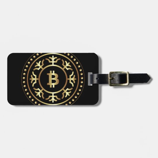 Bitcoin 2 luggage tag