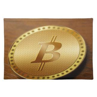 Bitcoin 2 placemat