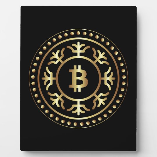 Bitcoin 2 plaque