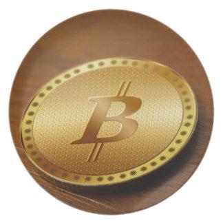 Bitcoin 2 plate