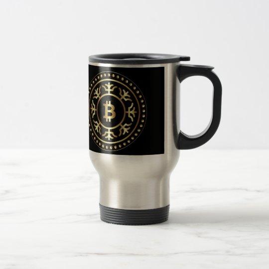 Bitcoin 2 travel mug
