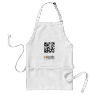 Bitcoin Accepted Here Aprons