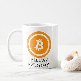 Bitcoin All Day Everyday Coffee Mug