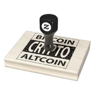 Bitcoin Altcoin Crypto Rubber Stamp