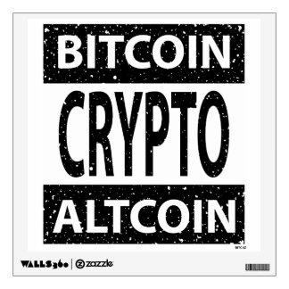 Bitcoin Altcoin Crypto Wall Sticker