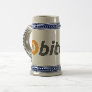 Bitcoin Beer Stein