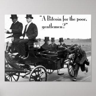 Bitcoin Beggar Poster