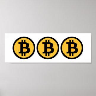 Bitcoin Billionaire Boy's Club Art BBB Poster