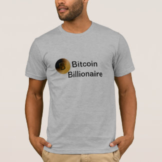 Bitcoin Billionaire Mens T-Shirt
