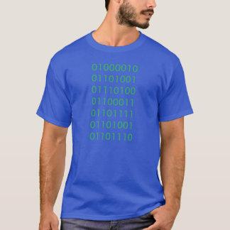 Bitcoin Binary Shirt