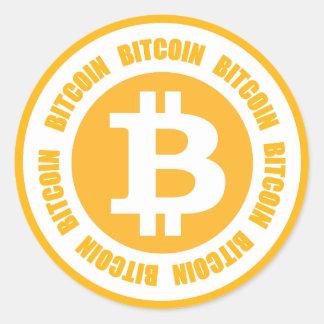 Bitcoin Bitcoin Bitcoin Classic Round Sticker