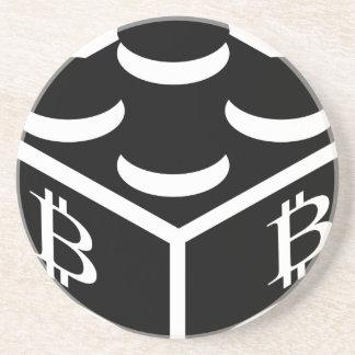 Bitcoin Block / Blockchain Coaster