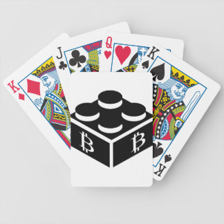 Bitcoin Block / Blockchain Poker Deck