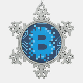 Bitcoin Blockchain Block Chain Christmas Ornament