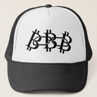 Bitcoin Blockchain Logo Symbol Crypto Trucker Hat