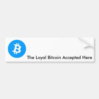Bitcoin Bumper Stickers Decals