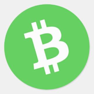 Bitcoin Cash Classic Stickers (sheet of 20)