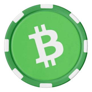 Bitcoin Cash Clay Poker Chip