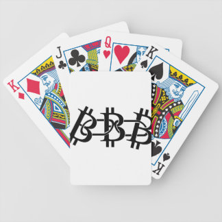 Bitcoin Chain Bicycle Playing Cards