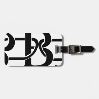 Bitcoin Chain Luggage Tag