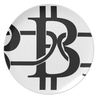 Bitcoin Chain Plate
