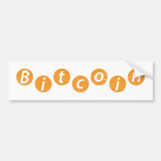 Bitcoin Circle Bumper Sticker