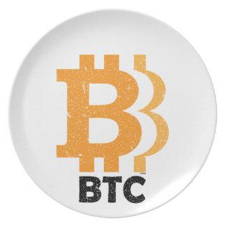 Bitcoin Classics Plate