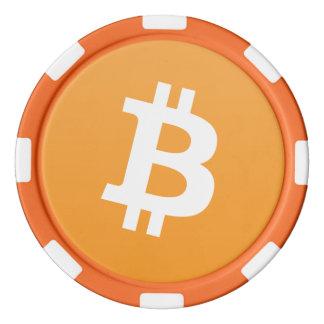Bitcoin Clay Poker Chip
