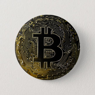 Bitcoin Coins 2 Inch Round Button