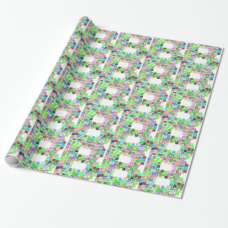Bitcoin Commerce Icons Wrapping Paper