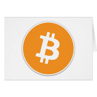 Bitcoin Crypto Currency - For the Bitcoin fans! Card