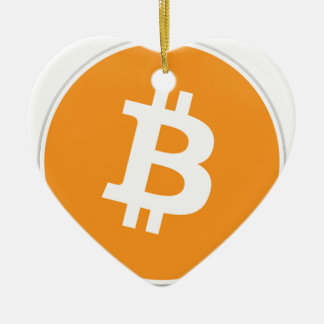 Bitcoin Crypto Currency - For the Bitcoin fans! Ceramic Ornament