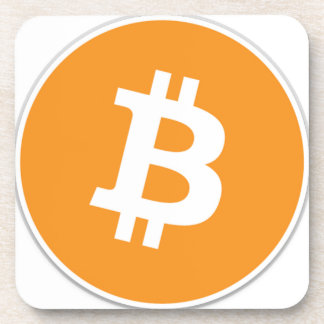 Bitcoin Crypto Currency - For the Bitcoin fans! Coaster