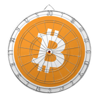 Bitcoin Crypto Currency - For the Bitcoin fans! Dartboard
