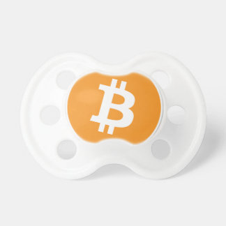 Bitcoin Crypto Currency - For the Bitcoin fans! Pacifier