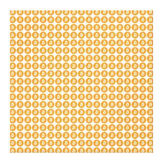 Bitcoin Crypto Currency Logo Canvas Print