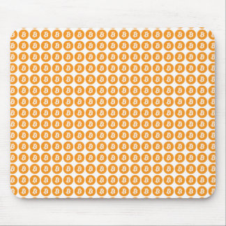 Bitcoin Crypto Currency Logo Mouse Pad