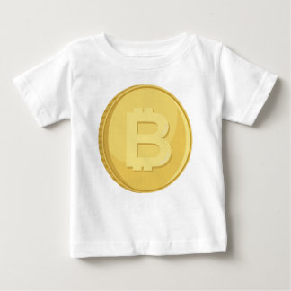Bitcoin Cryptocurrency Baby T-Shirt