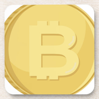 Bitcoin Cryptocurrency Coaster