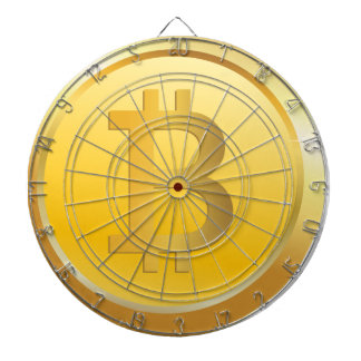 Bitcoin Cryptocurrency Dart Boards