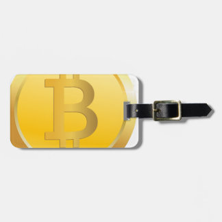 Bitcoin Cryptocurrency Luggage Tag