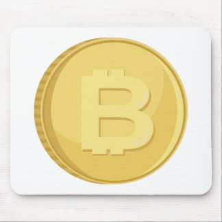 Bitcoin Cryptocurrency Mouse Pad