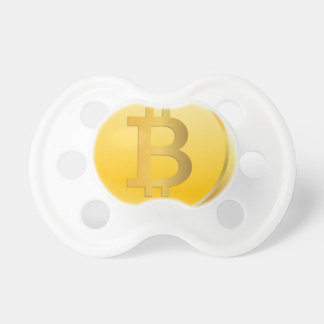 Bitcoin Cryptocurrency Pacifier
