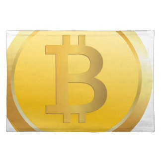 Bitcoin Cryptocurrency Placemat
